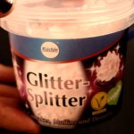 Glitter-Splitter: glittery wafers