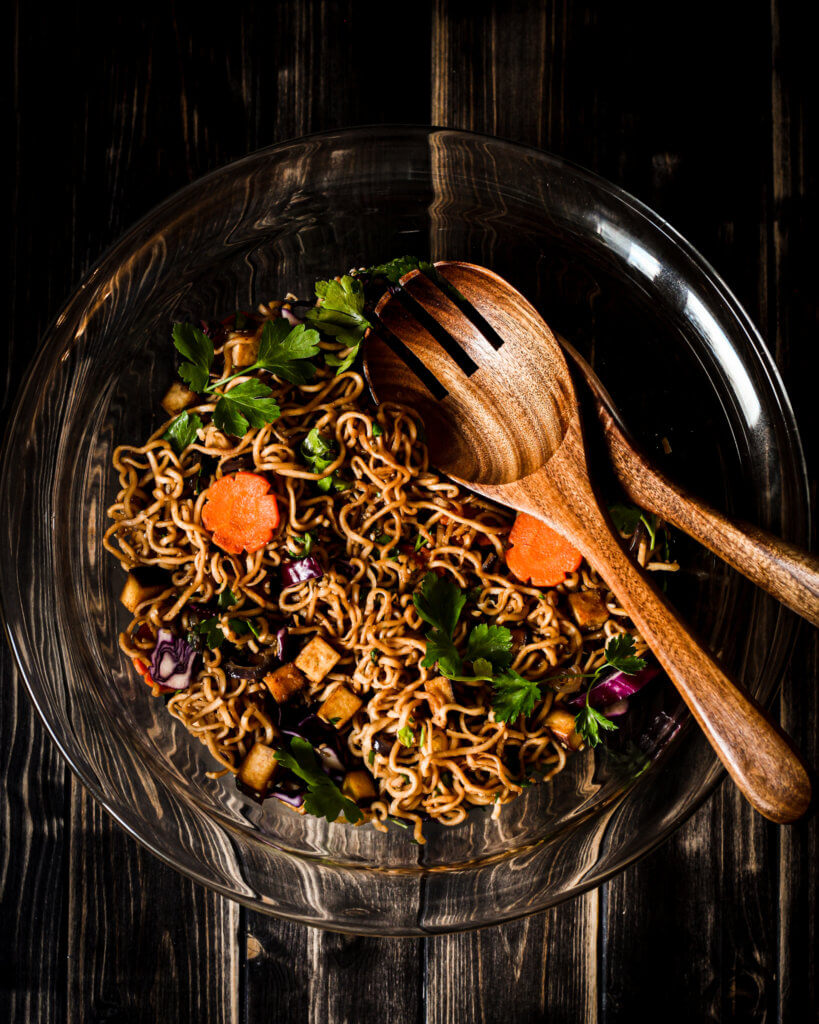 picture of Sesame Noodles in bowl