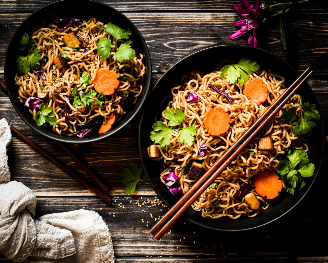 picture of Sesame Noodle Salad