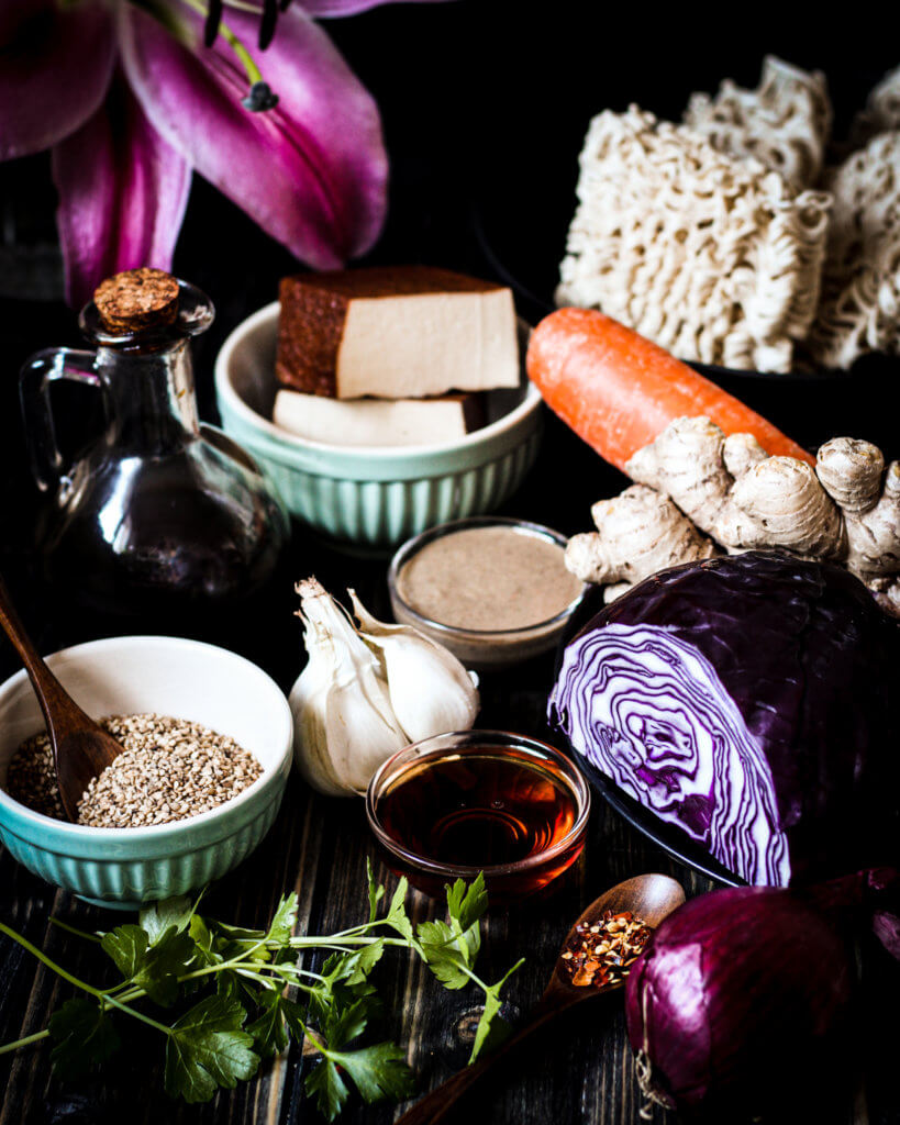 picture of Sesame Noodles ingredients