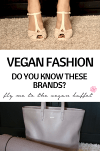 VEGAN FASHION - DO YOU KNOW THESE BRANDS?