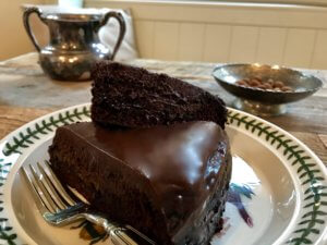 picture of vegan chocolate cake
