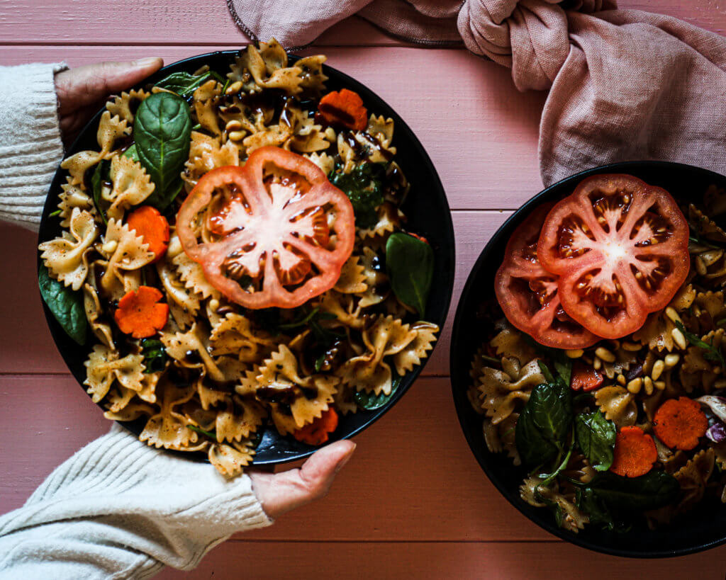 picture of easy pasta salad