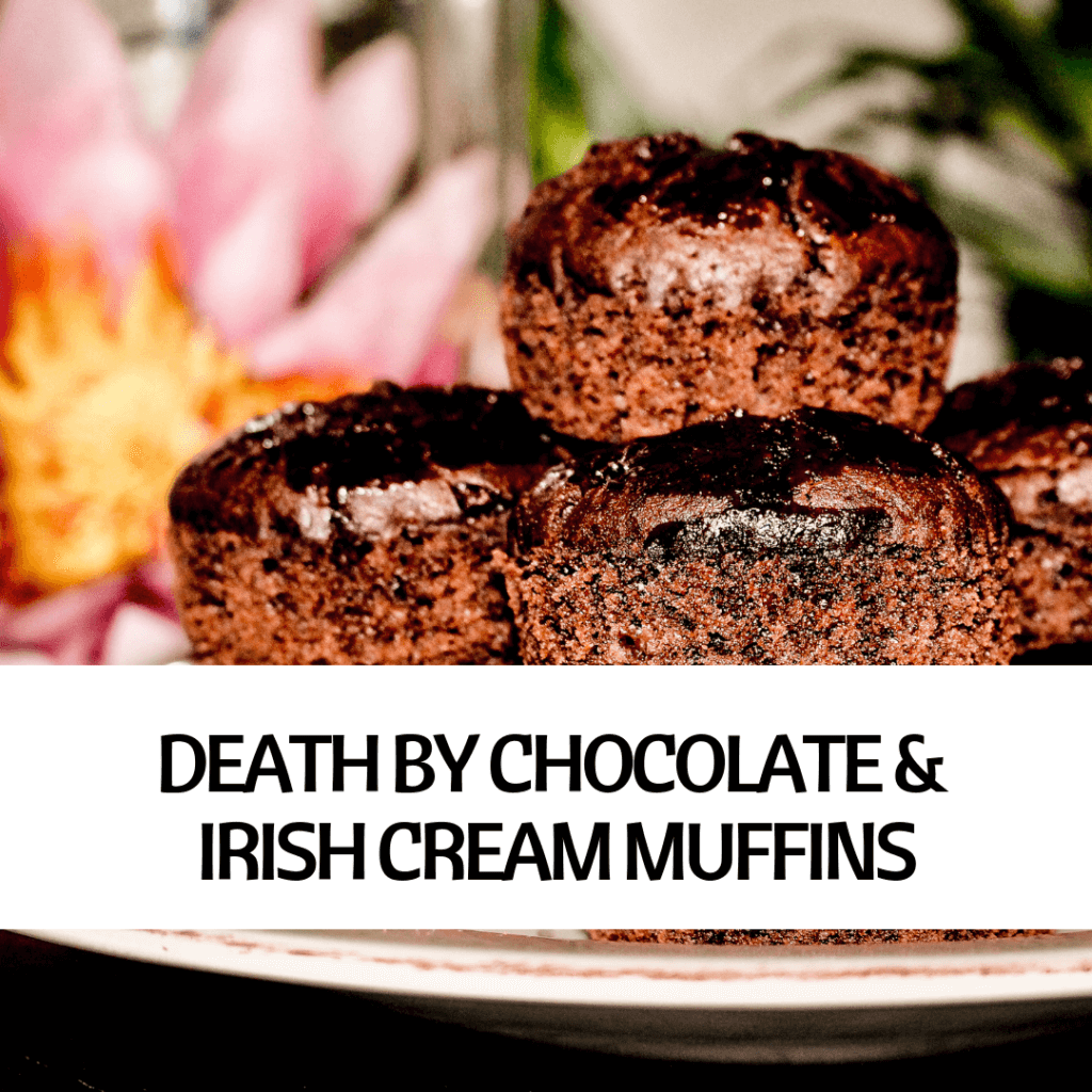 BILD VON VEGANEN DEATH BY CHOCOLATE AND IRISH CREAM MUFFINS