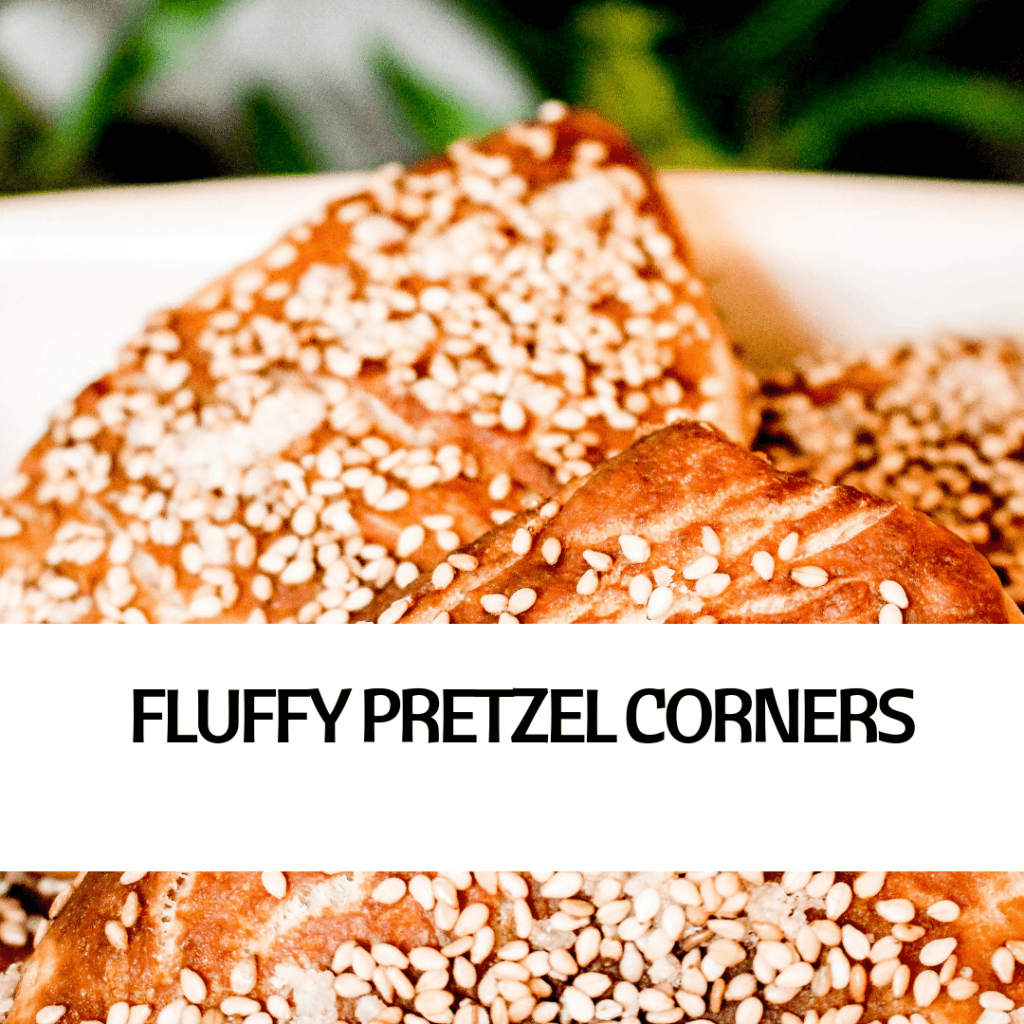 PICTURE OF FLUFFY PRETZEL CORNERS