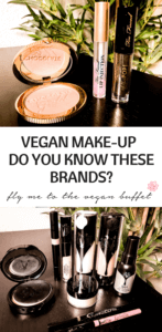 Pin for vegan make-up