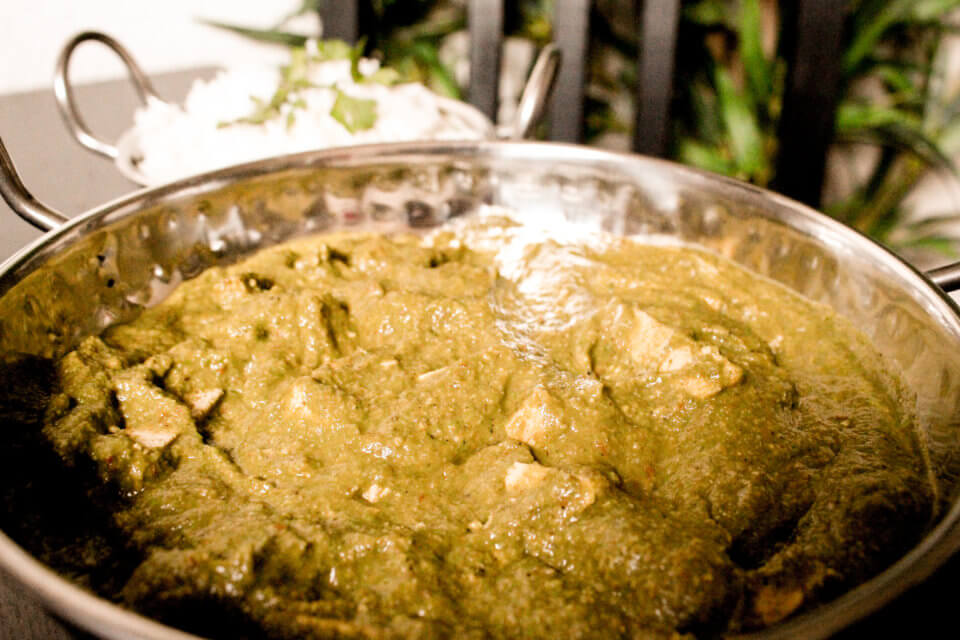 PICTURE OF PALAK TOFU BY VEGAN RICHA