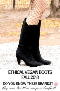 PIN ETHICAL VEGAN BOOTS