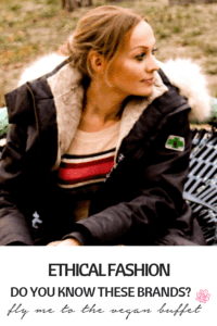 Looking for vegan ethical fashion? Have a look at the brands I like most #veganfashion #ethicalfashion