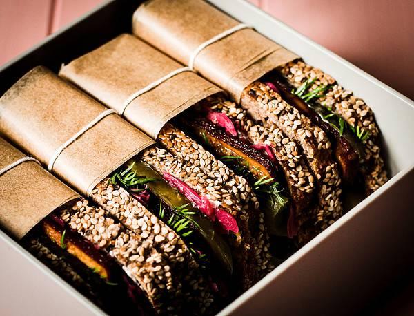 sandwiches in der Monbento Box