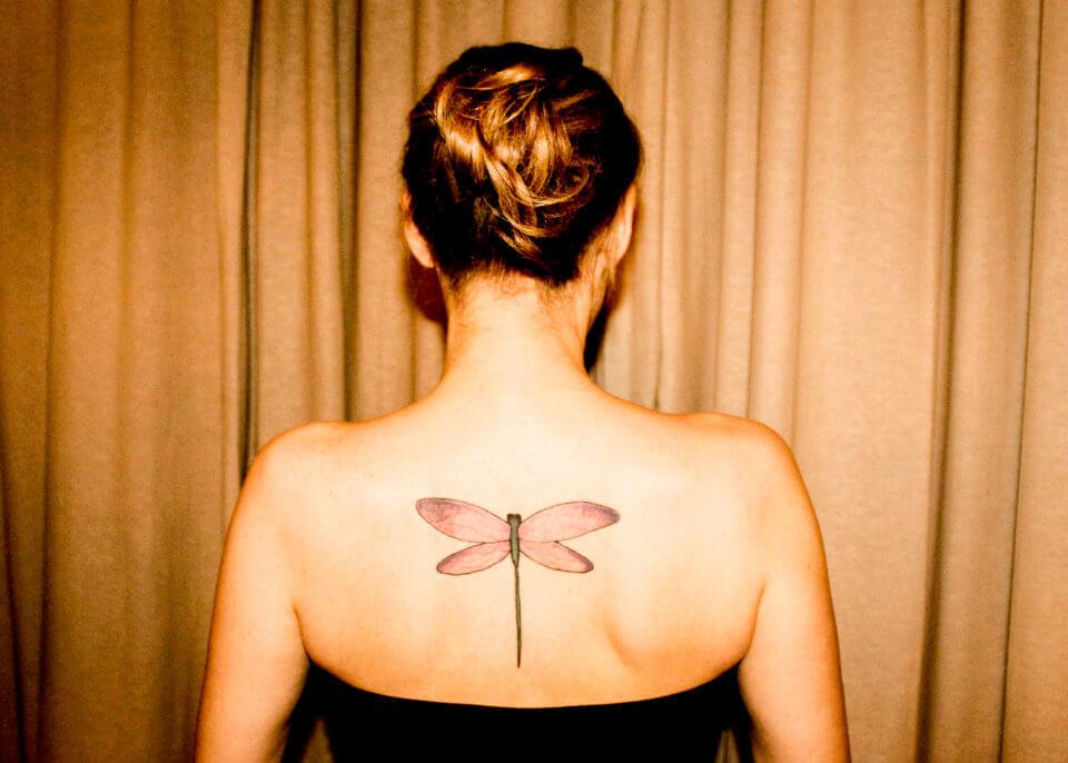 Bild von Libellen tattoo