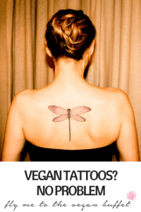 PIN FOR VEGAN DRAGONFLY TATTOO