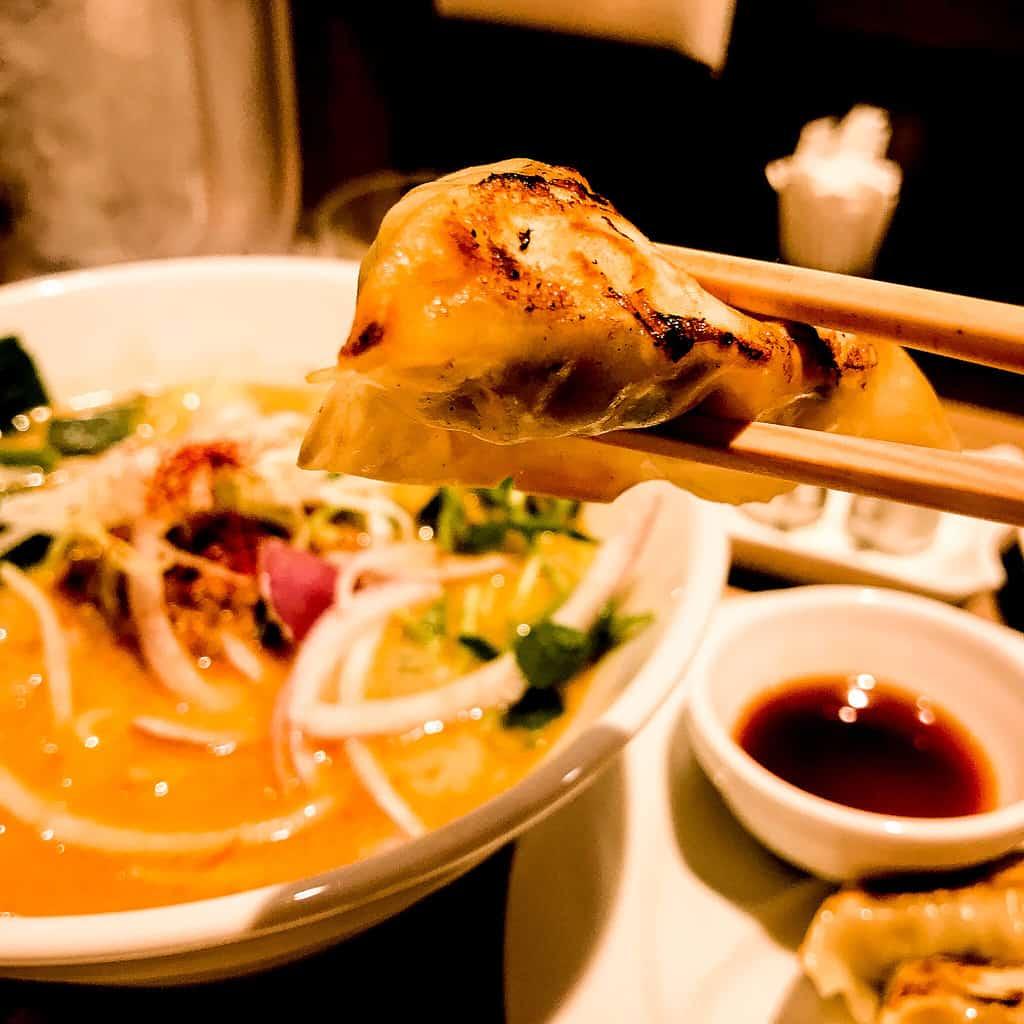 vegan essen in Tokyo: T's Tantan