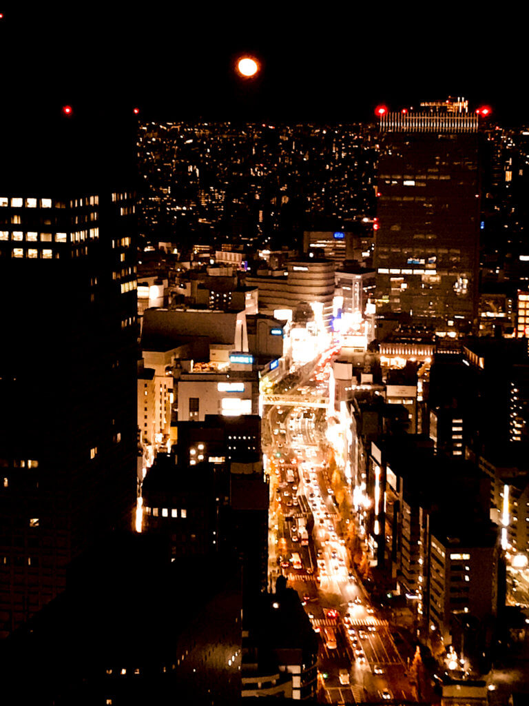 pic of shinjuku at night