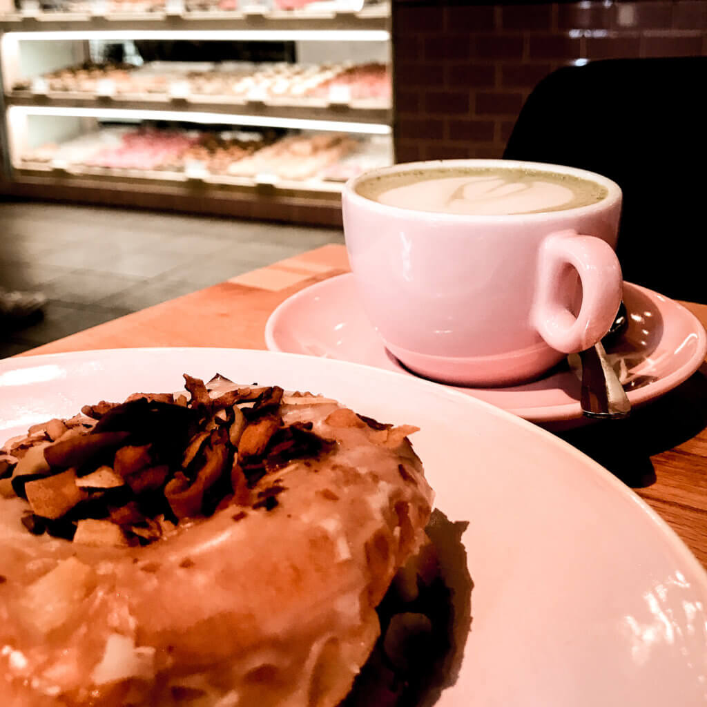 picture of vegan donut from brammibal's