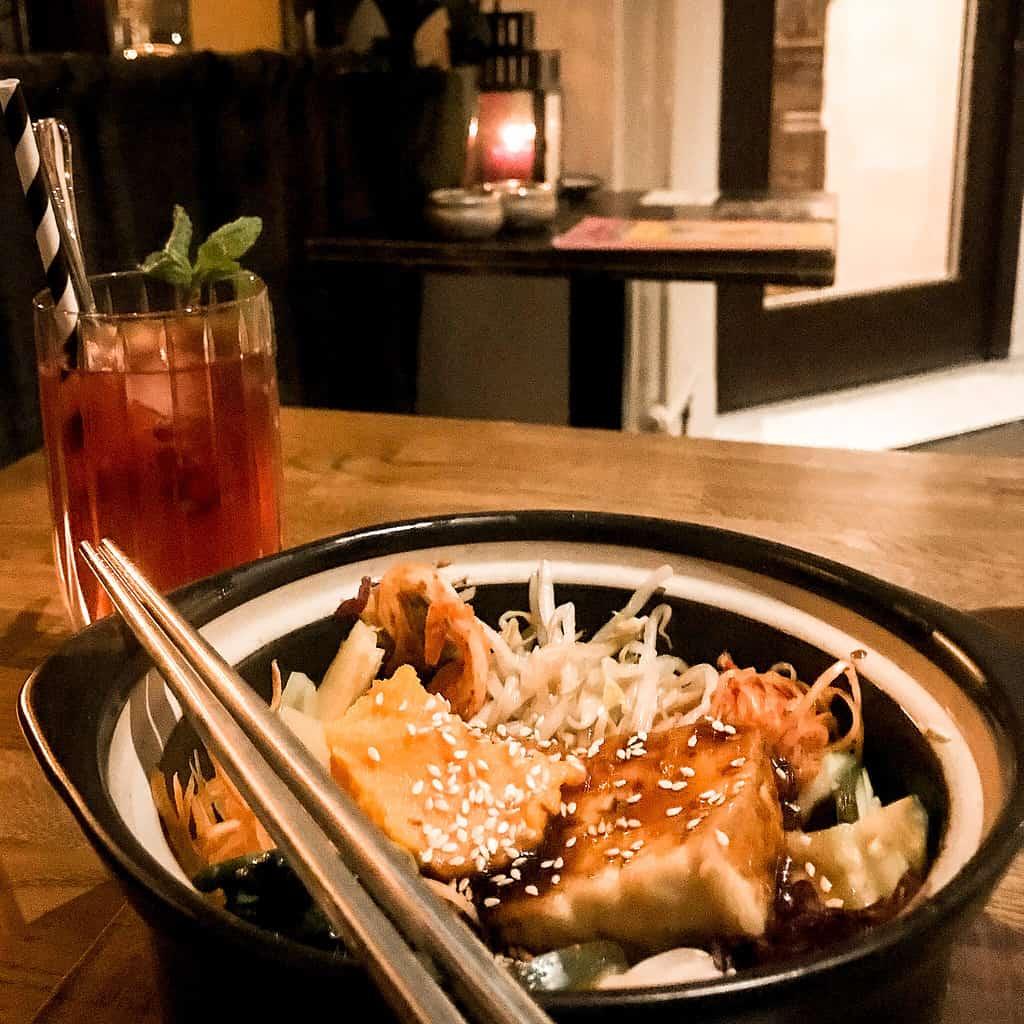 picture of vegan korean restaurant feel seoul good berlin