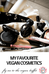 my favourite cosmetic products