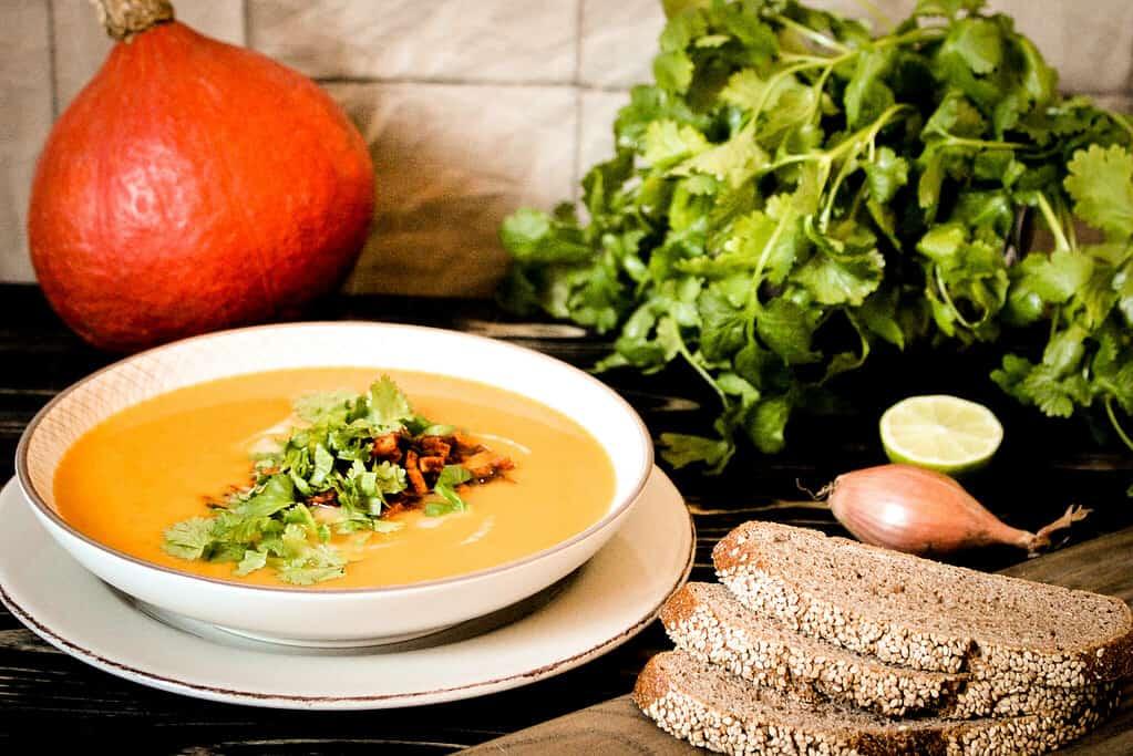 Bild von Mexican Fusion Suppe