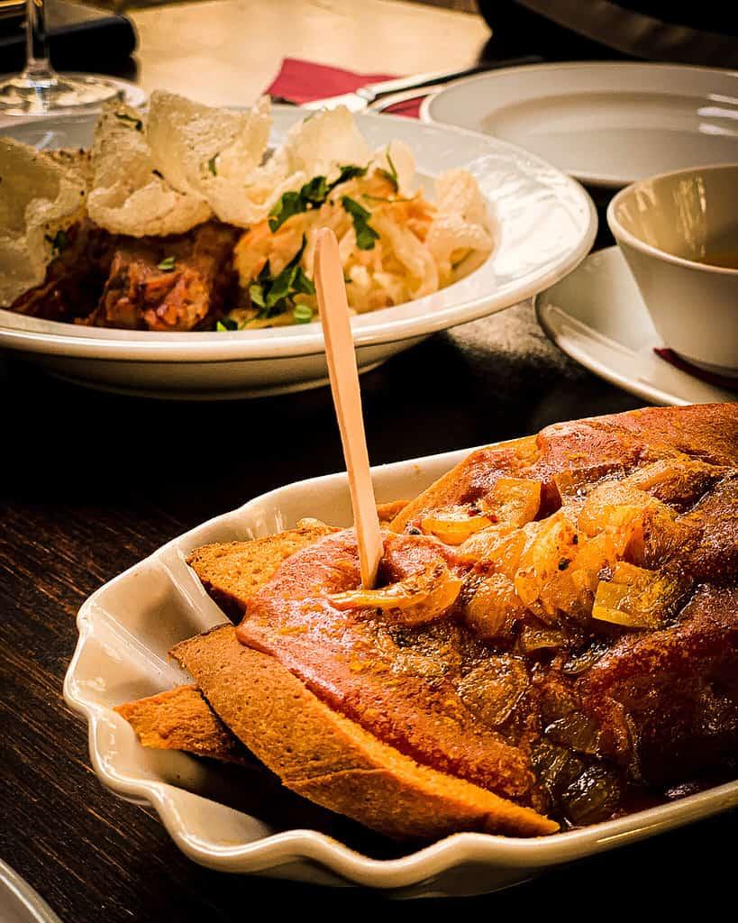 vegane currywurst im vaust