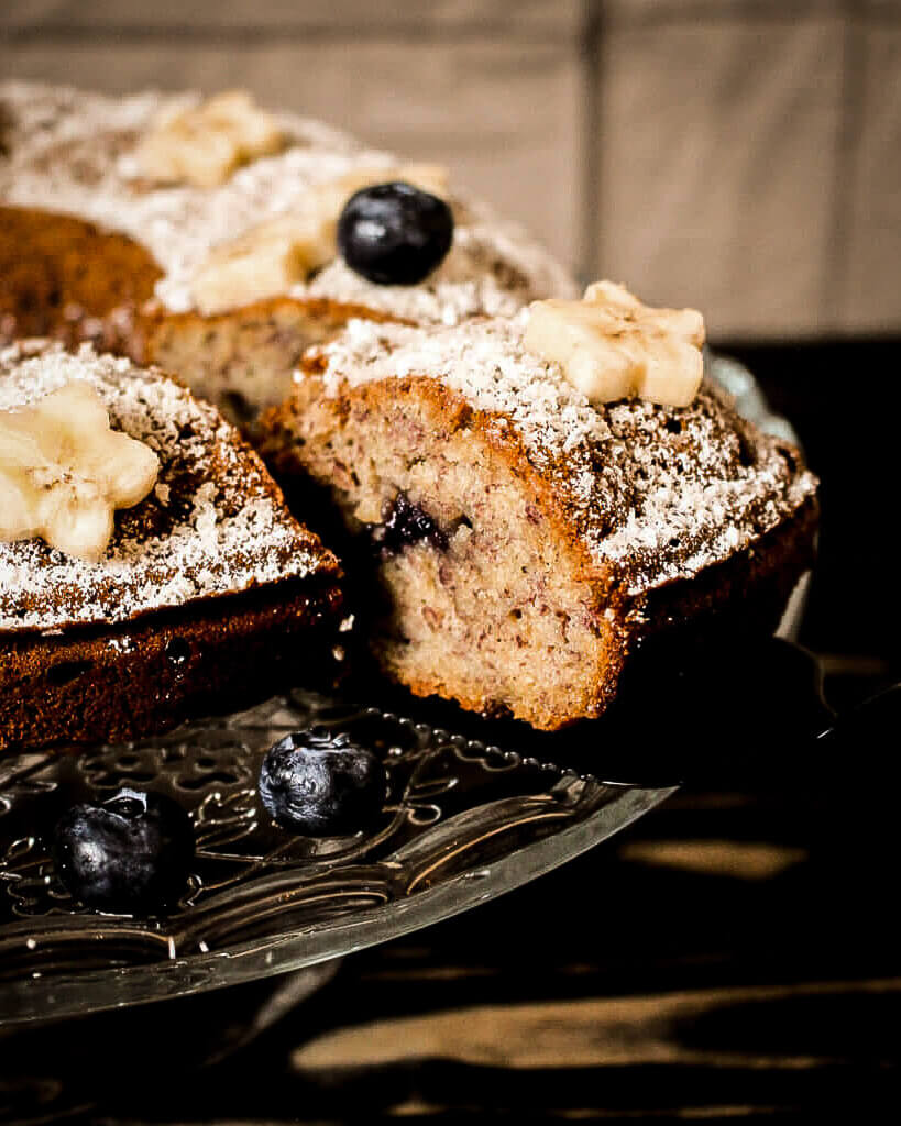 picture of cake variation with blueberries
