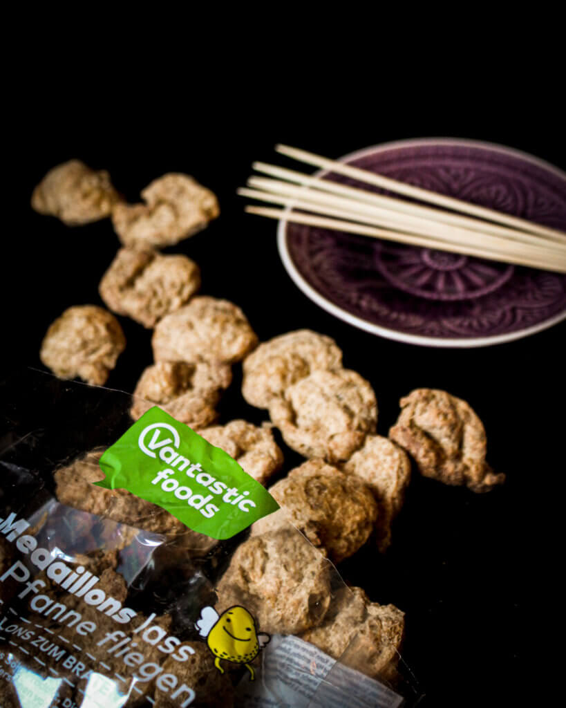 textured soy protein for soy satay