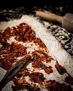 roll up dough for pizza pretzel twist bread