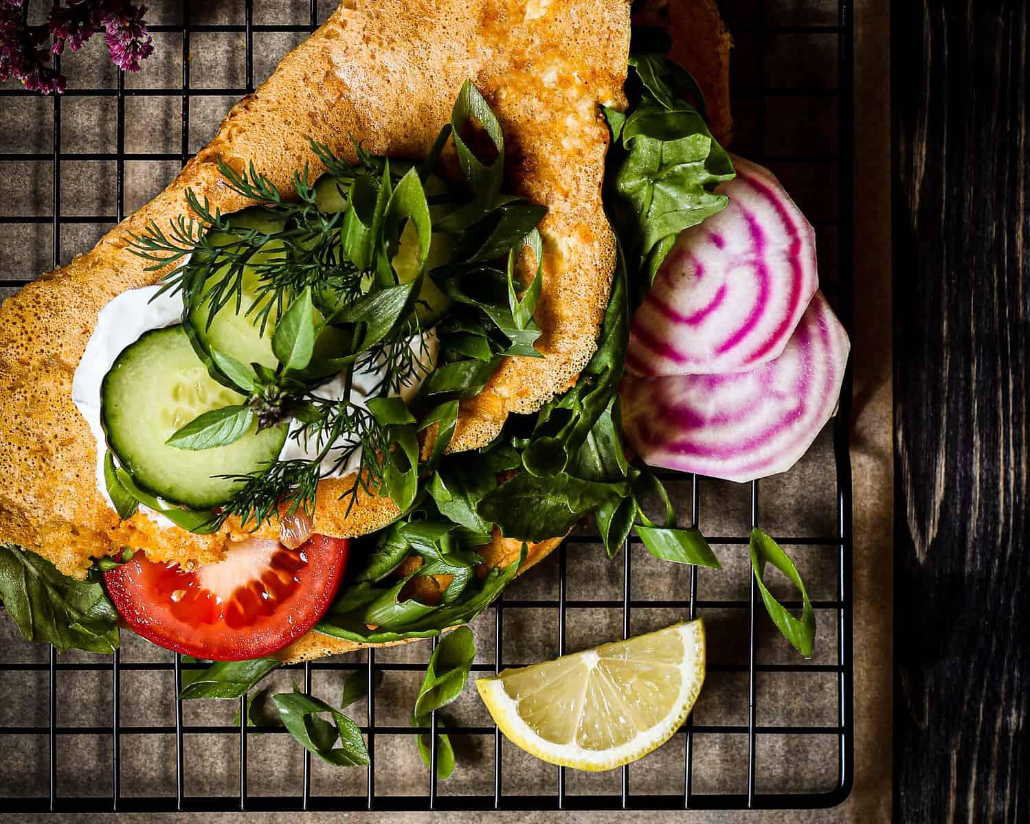 easy vegan omelette