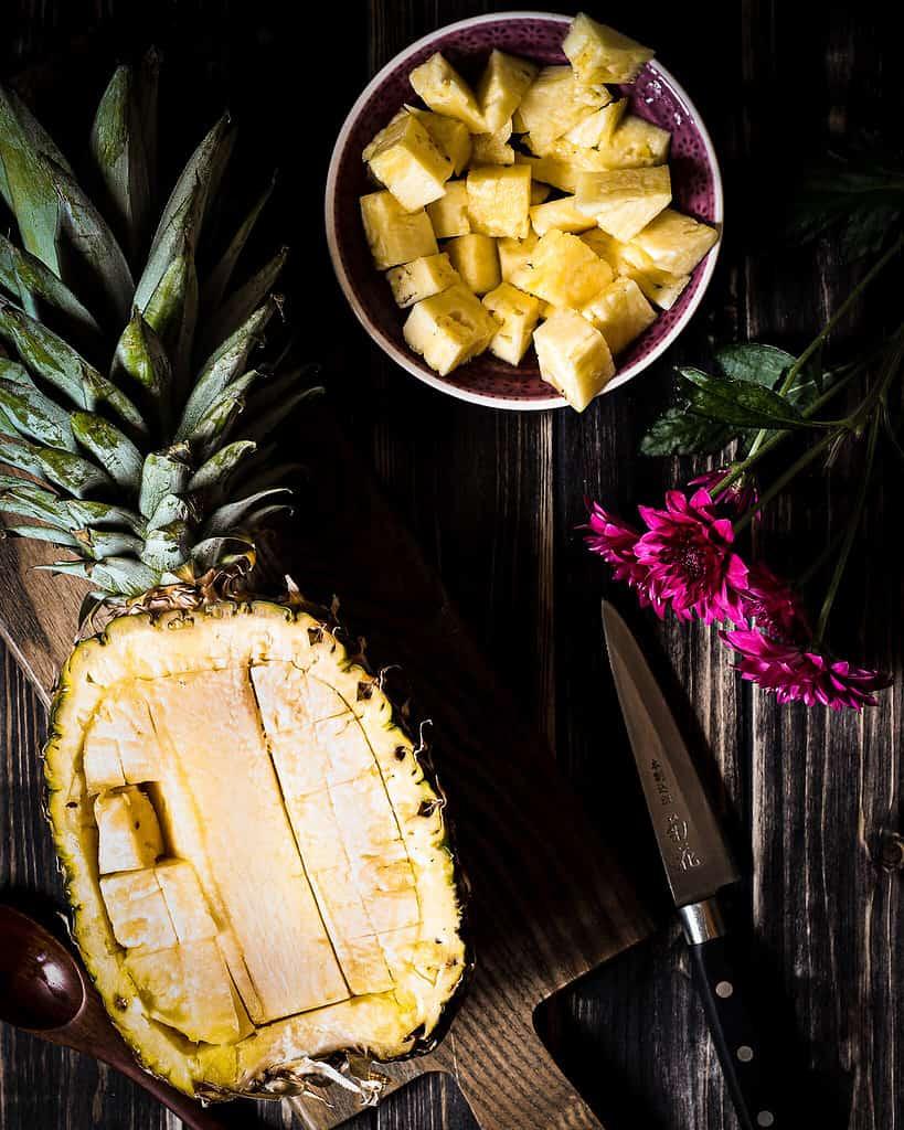 bild von Ananasboot