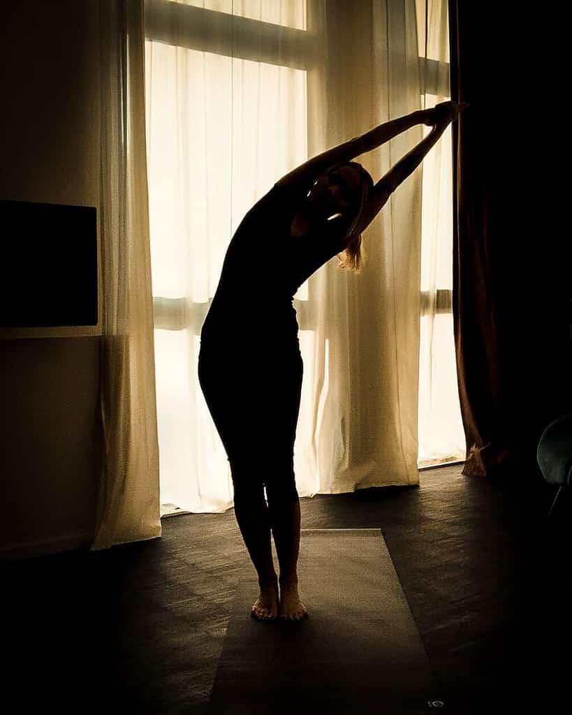 yoga im Almodovar Hotel