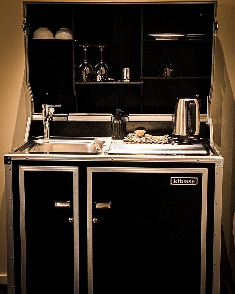 kitchenette im Almodovar hotel