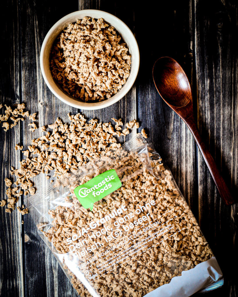 picture of soy protein by Vantastic foods