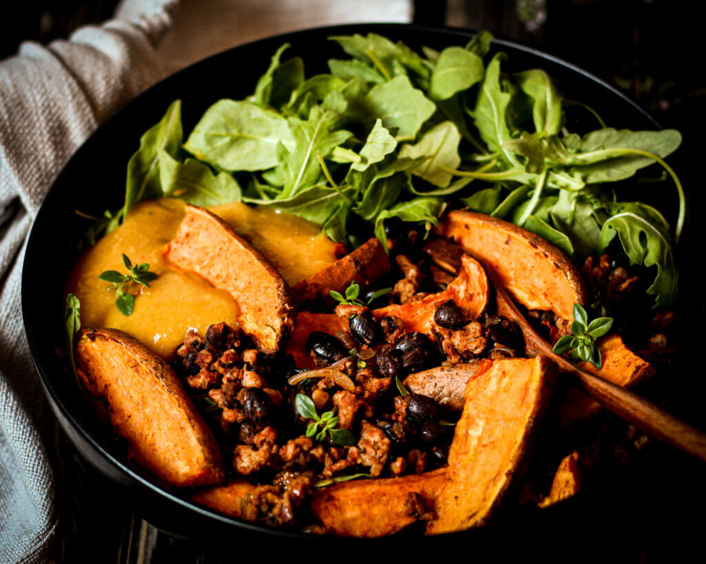 picture of sweet potato skillet