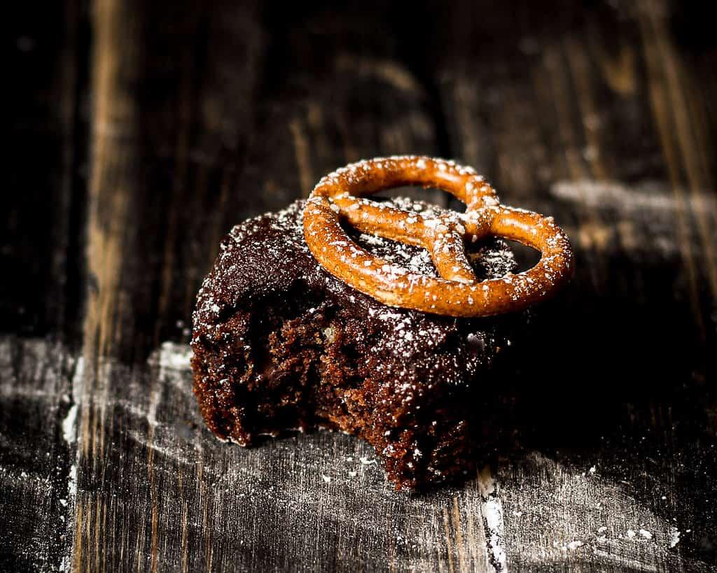 Bildvon veganen Death by Chocolate Muffins