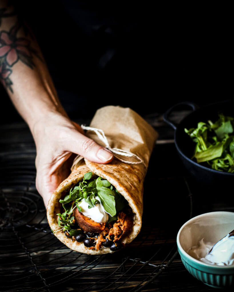 homemade wraps