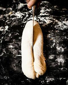 Laugen twist baguette