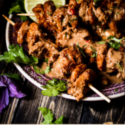 Supereasy, quick and tasty: the satay sticks can alsobe prepared in advance and taken to a barbecue or in your lunch box