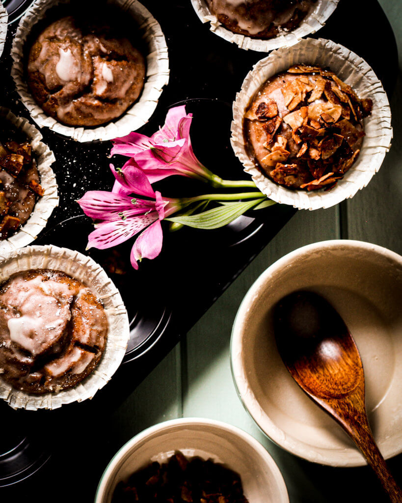 coconut bacon muffins