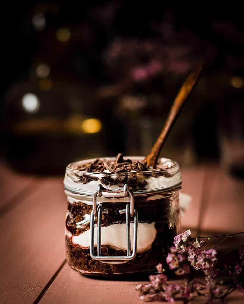 Schwarzwälder kirsch trifle