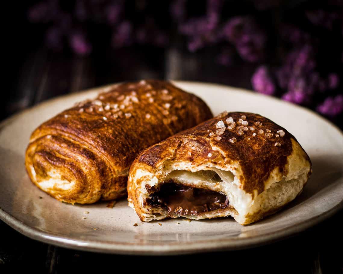 pretzel pain au chocolat
