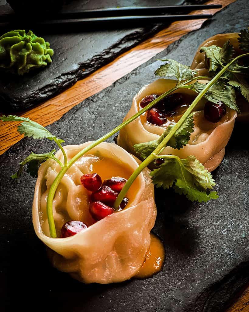 dumplings im Secret garden